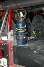 PowerTank on a Jeep