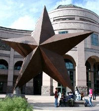 Lone Star sculpture