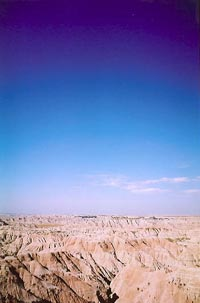 Badlands panorama