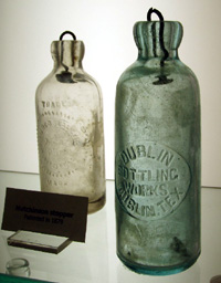 Early Dr Pepper bottles