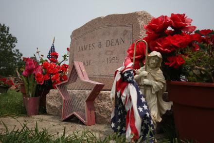 James Dean's grave