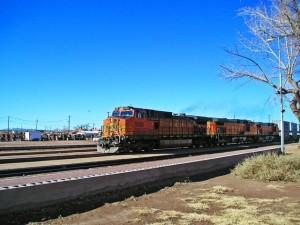 Freight Train at the La Posada