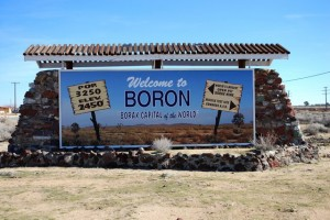 Boron, California