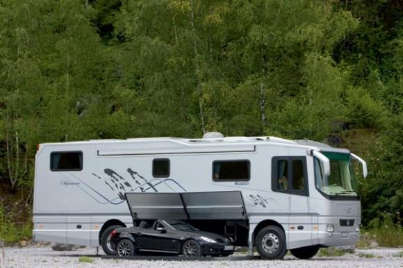 """The Volkner Mobil  """"Performance"""" RV (Photo courtesy of Volkner Mobil.com)"""