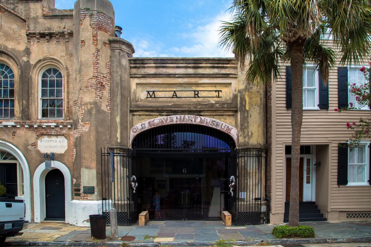 Old Slave Mart Museum