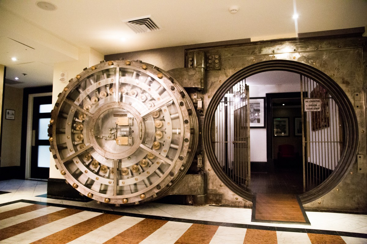 Vault bar, Sheraton Columbia Downtown