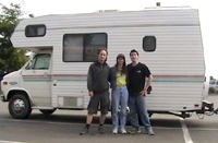 The Gozas and their motorhome