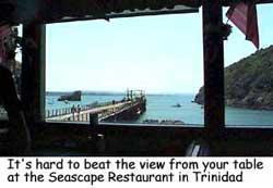 Seascape Restaurant In Trinidad California