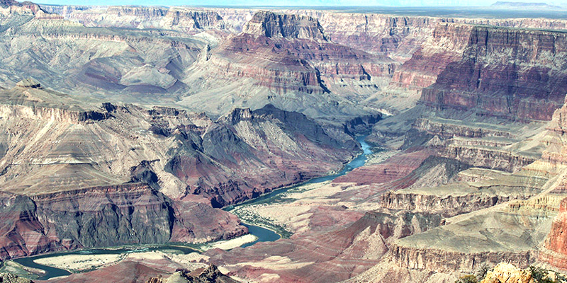 Grand Canyon from Desert View Point, Arizona - Photo by Ann Van Breeman
