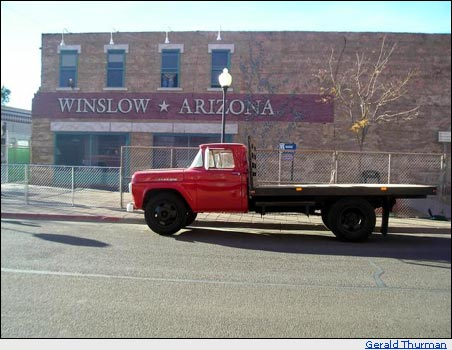 Real flat bed Ford in Winslow