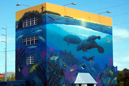 Quot Whaling Wall Quot In Key Largo Florida