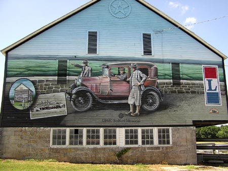 Barn Mural on the Lincoln Highway