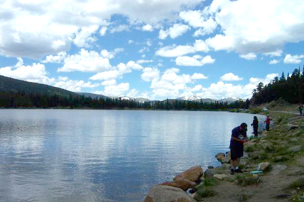 Echo Lake near Mt. Evans