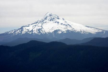 Mount Hood as seen from Shetland Point Overlook