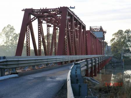 Historic Bridge at Paringa
