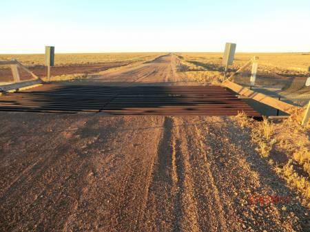 Dog Fence Road Grid