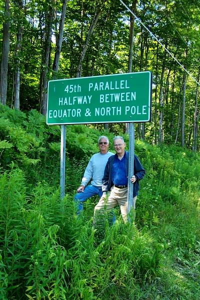 Halfway to the North Pole