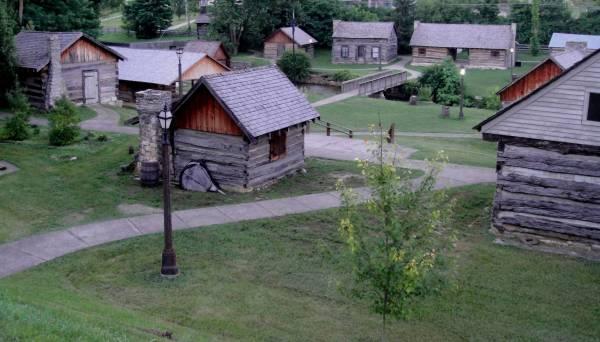 Old Bardstown Village - Re-creation