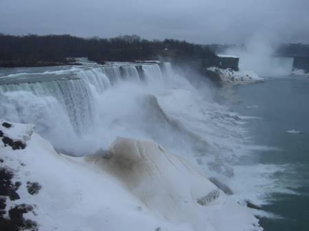 Niagara in April.