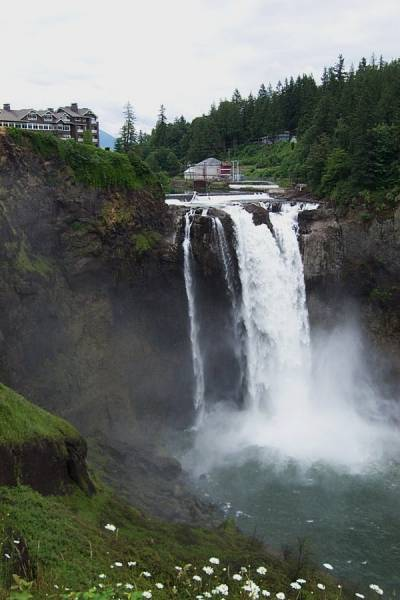 Snoqualmie Falls and the Salish Hotel