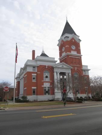 Bulloch County Courthouse, Statesboro, Georgia