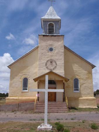 Sacred Heart Church in Dilia, NM
