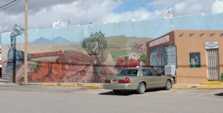 Mountainair, NM mural