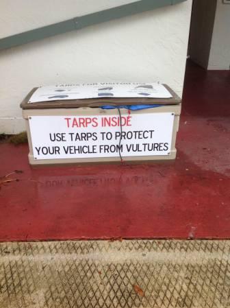Tarp box