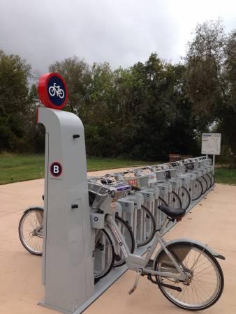 Bike kiosk -San Antonio