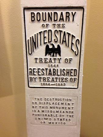 Border Treaty Monument