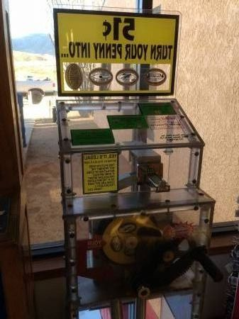 Thing penny machine