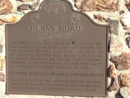 Plank Road Monument