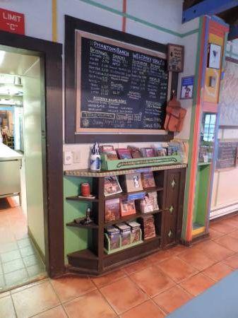Phantom Ranch - Canteen shelf