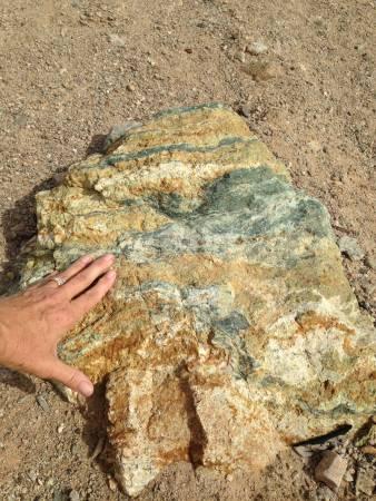 Mineral remains - La Paz