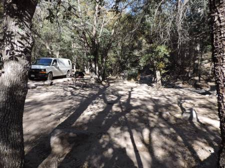 Chirachua NM - Bonita Canyon cmpgrd