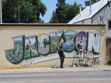 Jackson mural