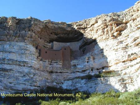 Montezuma Castle National Monument, Arizona