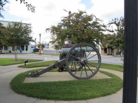 Town square, Sylvania Georgia
