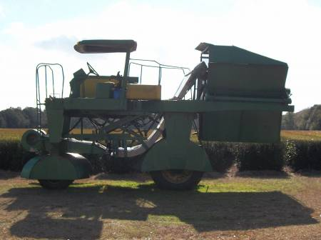 Custom Built Tea Harvester