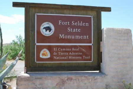 Fort Selden Welcome Sign