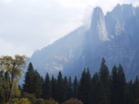 Yosemite valley.