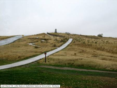 Last Stand Hill, Little Bighorn Battlefield National Monument, Montana