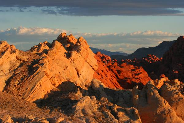 Sunset at Sunset Point, Valley of Fire State Park