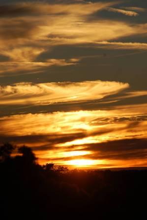 Sunset at Grand Canyon (south rim)