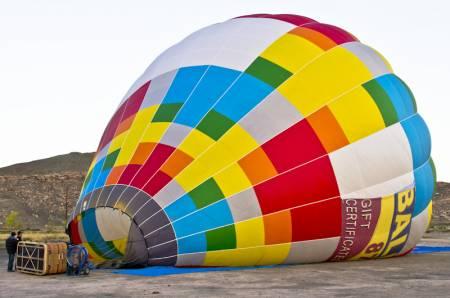 Balloon Flight Over Arches NP