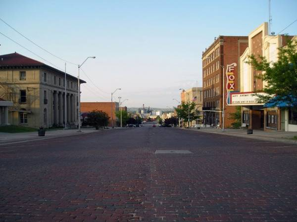 Downtown McCook, Nebraska