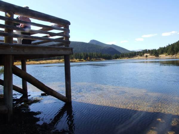 Lily lake, South of Estes park
