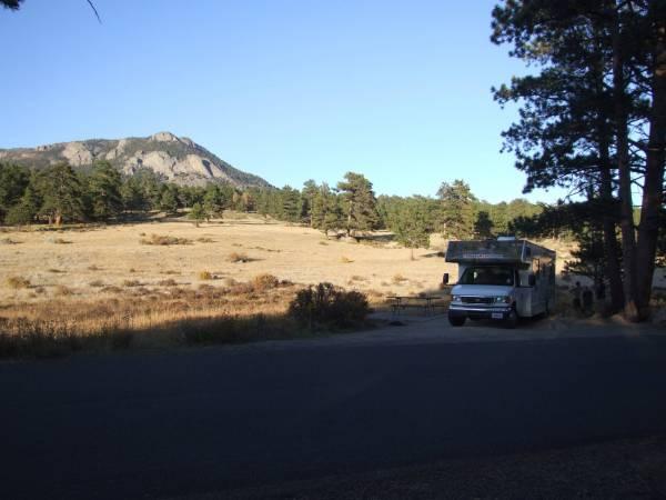 Morraine campground, RMNP