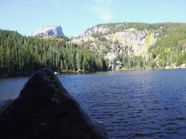 Bear lake, RMNP.