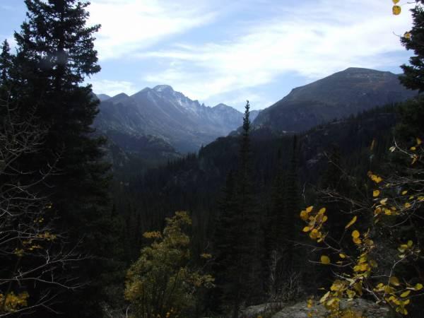 On the trail, Bear lake to Emerald lake.